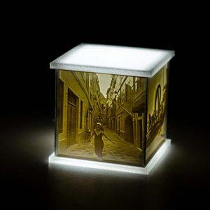 Lampă Personalizată Printată 3D