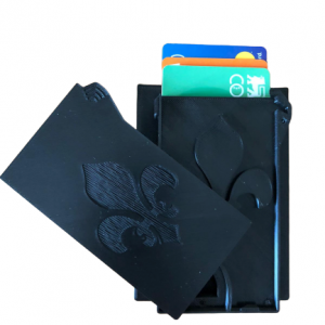 Portofel compact pentru carduri