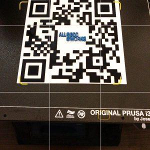 Cod QR printat 3D personalizat