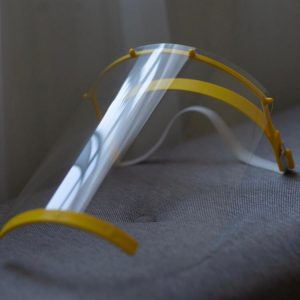 Viziera printata 3D