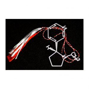 Martisor Printat 3D – Molecula Nicotina
