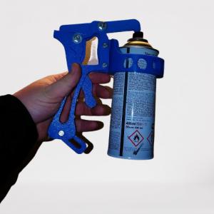 Pistol pentru spary cu vopsea- Printat 3D